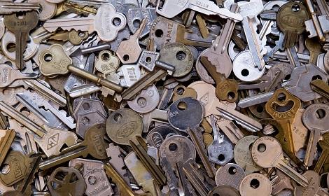 Bult met sleutels